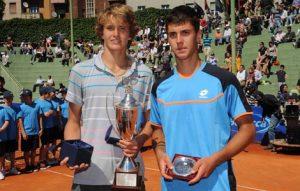 2013 - 54° Torneo Bonfiglio - Milano - Zverev Alexander - Djere Laslo