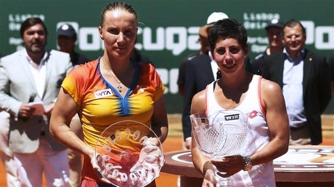 Svetlana Kuznetsova e Carla Suarez Navarro