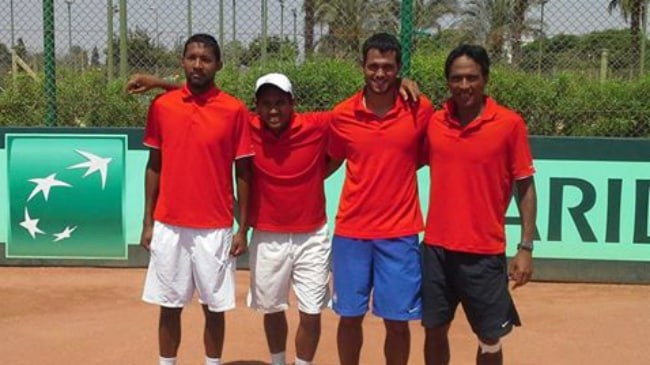 Madagascar Davis Cup team