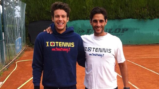 Gianluigi Quinzi e Federico Torresi