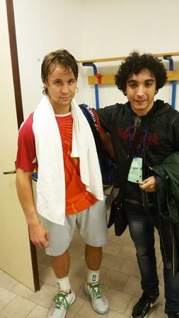 Ricardas Berankis e Daniele Sforza
