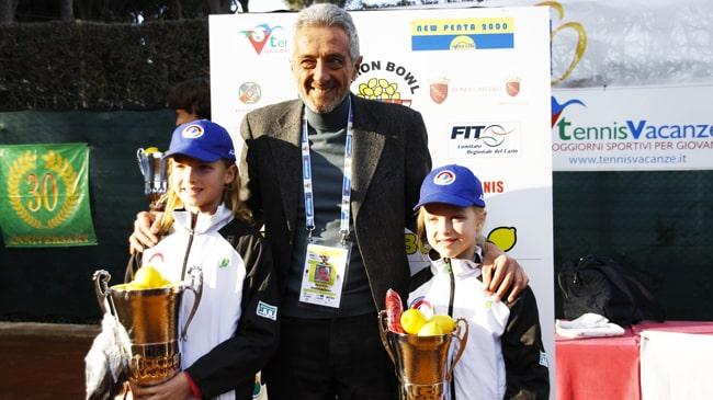 Paolo Verna con Brenda e Linda Fruhvirtova