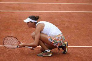 Irina Buryachok al Roland Garros 2014