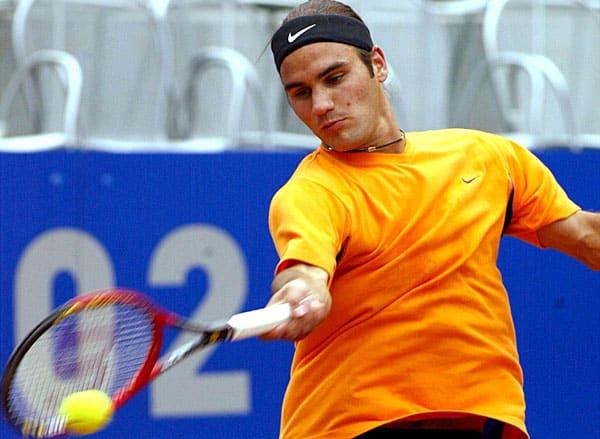 Roger Federer, Internazionali d'Italia 2002
