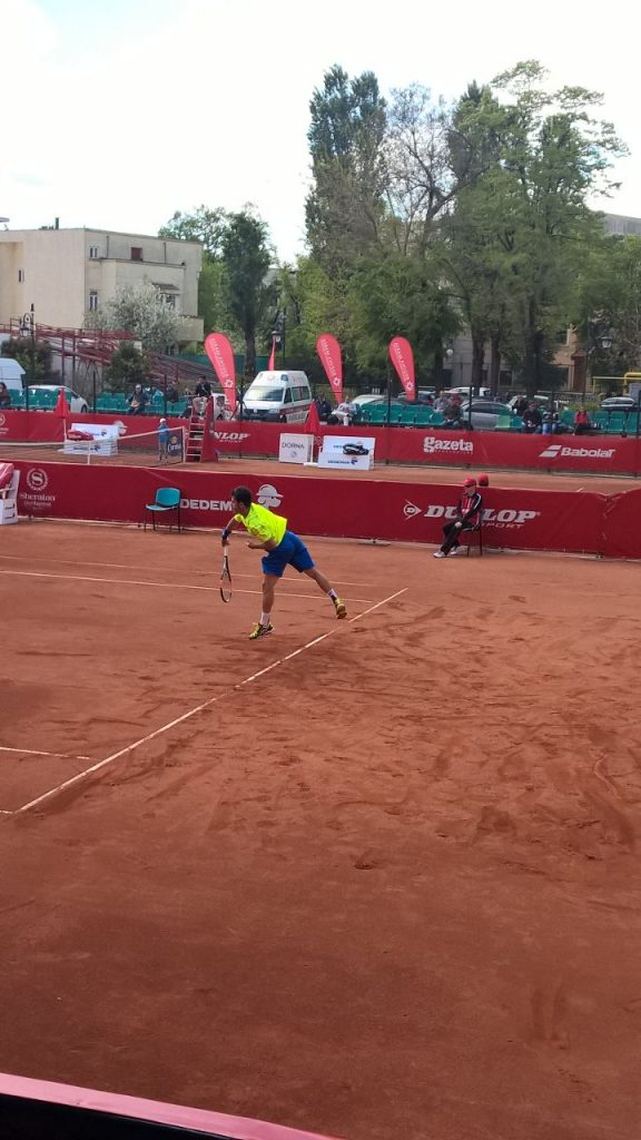 ATP Bucarest 2015 - Thomas Fabbiano