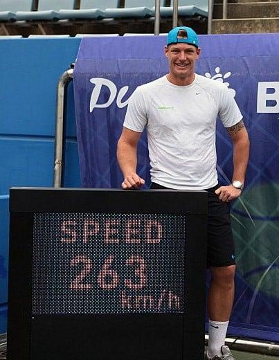 Sam Groth speed