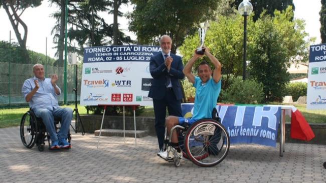 Premiazione Wheelchair Roma